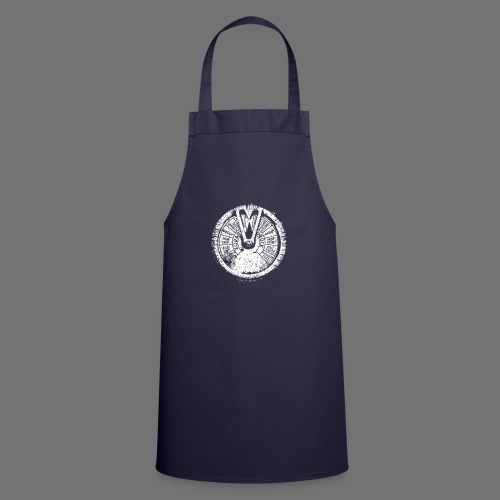 Maschinentelegraph (white oldstyle) - Cooking Apron