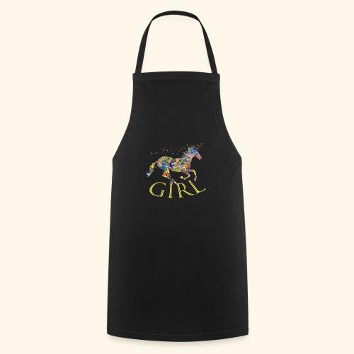 unicorn girl T-shirt - Grembiule da cucina