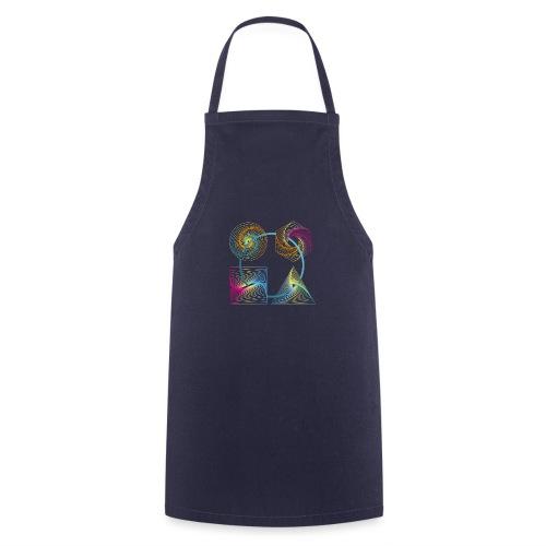 Regenbogen Geometrie - Kochschürze
