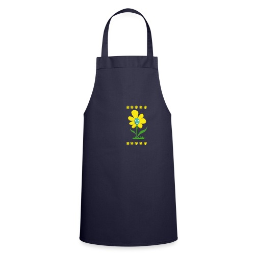 Gelbe Blume - Kochschürze