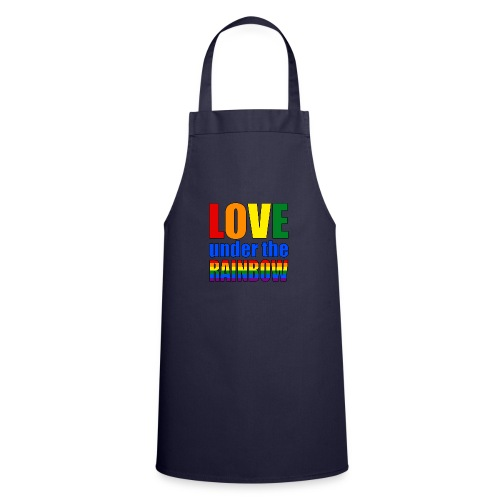 Love under the rainbow - Cooking Apron