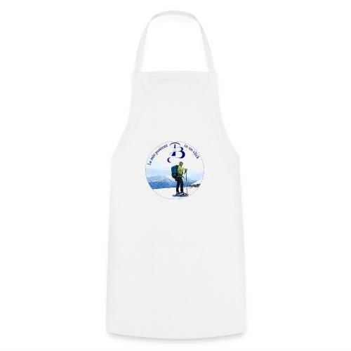 Logo cartone ciaspole - Grembiule da cucina