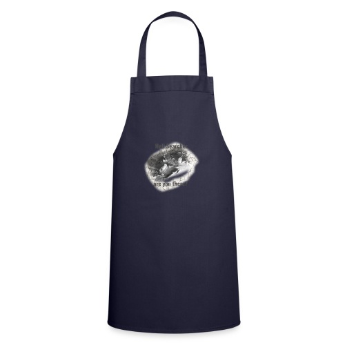 Hell Searcher, are you there? T-Shirt White - Cooking Apron