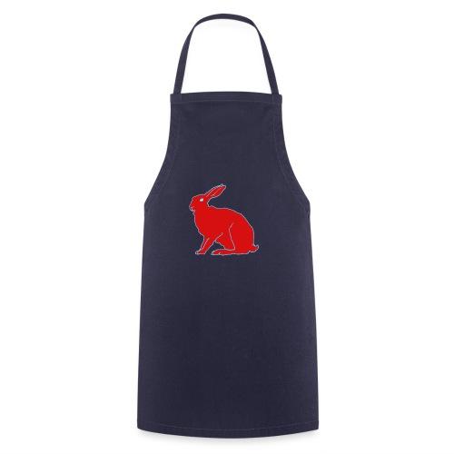 Roter Hase - Kochschürze