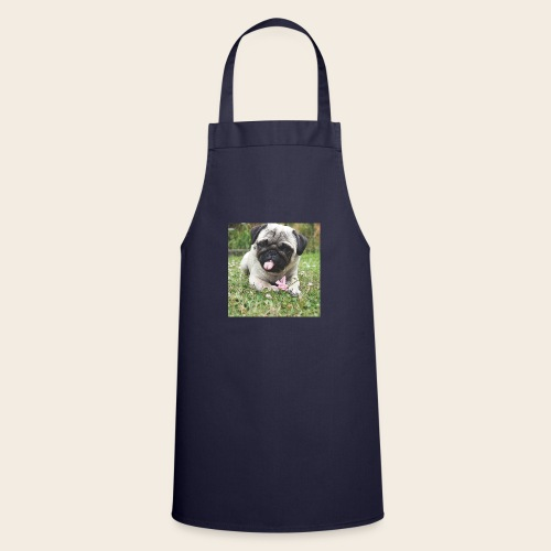 Mops Wiese - Kochschürze