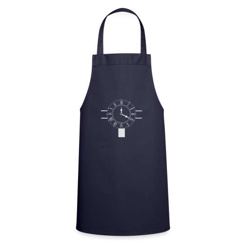 Navy pillow design - Cooking Apron
