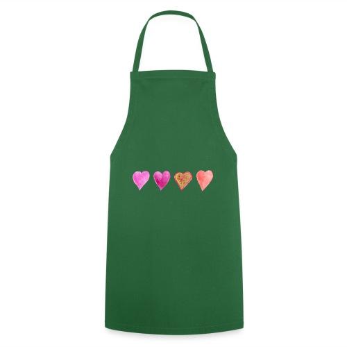 Herzen - Kochschürze
