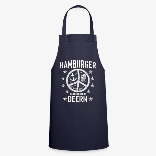 97 Hamburger Deern Peace Friedenszeichen Seil - Kochschürze