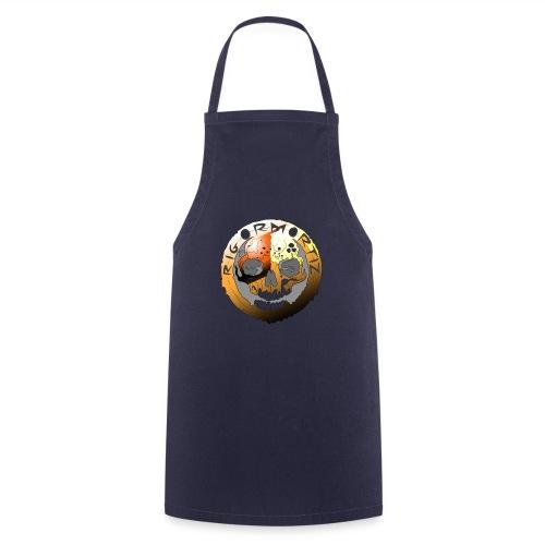 Rigormortiz Metallic Orange Design - Cooking Apron