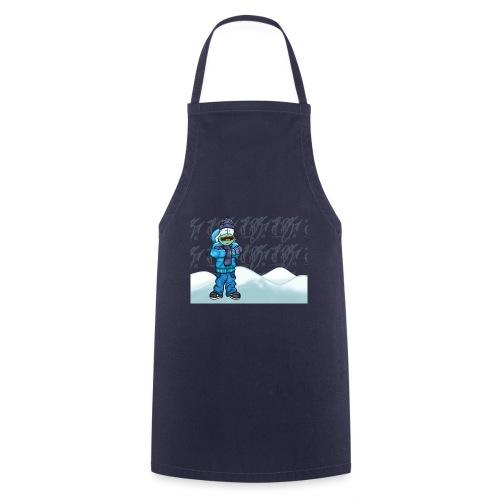 Freezing Turtle Snowboarder/Frierender Snowboarder - Kochschürze