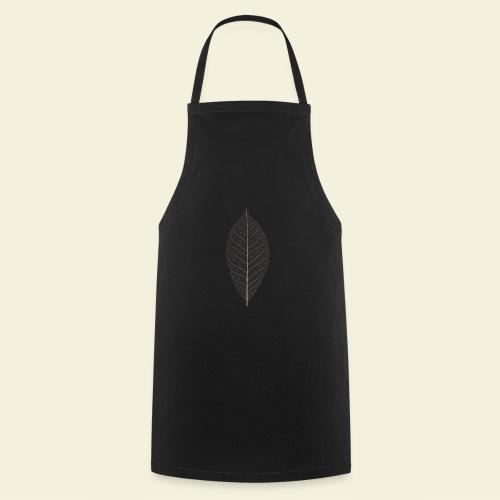 Feuille marron Squelette - Tablier de cuisine