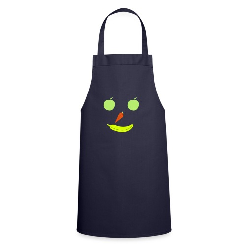 Obst Gemüse Smiley - Kochschürze