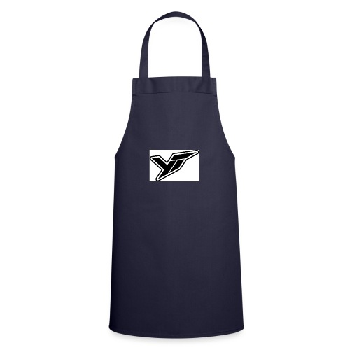 YT LOGO OUTLINE DOPPELT 1 - Cooking Apron