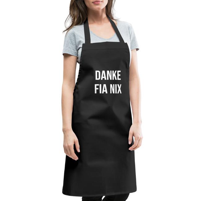 Vorschau: Danke fia nix - Kochschürze