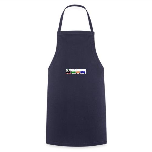 dampfender Zug - Kochschürze