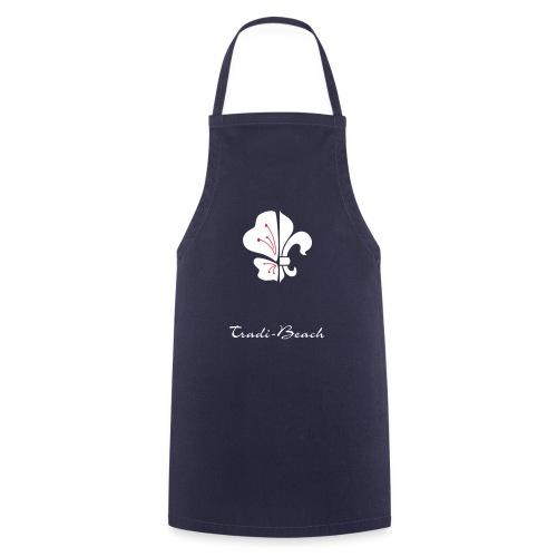 logo tradi beach NB - Tablier de cuisine