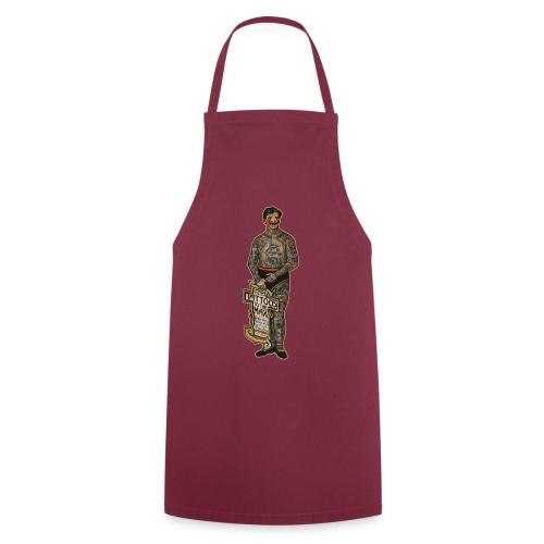 VintageTattooed Man - Kochschürze