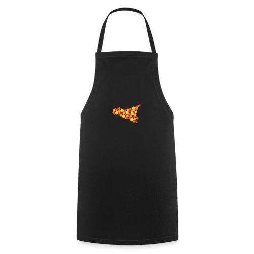logo sicilia piccolo - Grembiule da cucina