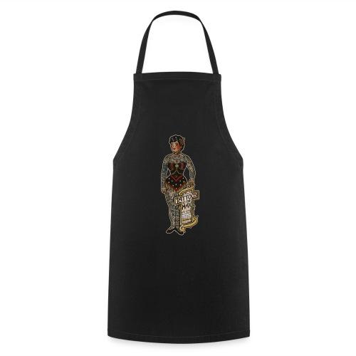 VintageTattooed Lady - Kochschürze