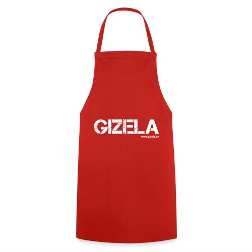 GIZELA white - Kochschürze