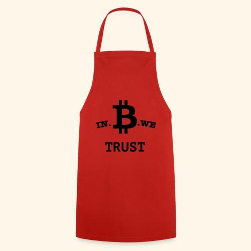 In B we trust - Keukenschort