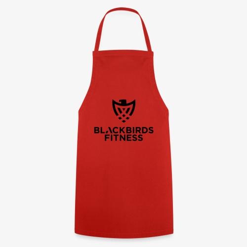 Blackbirds Fitness Logo schwarz - Kochschürze