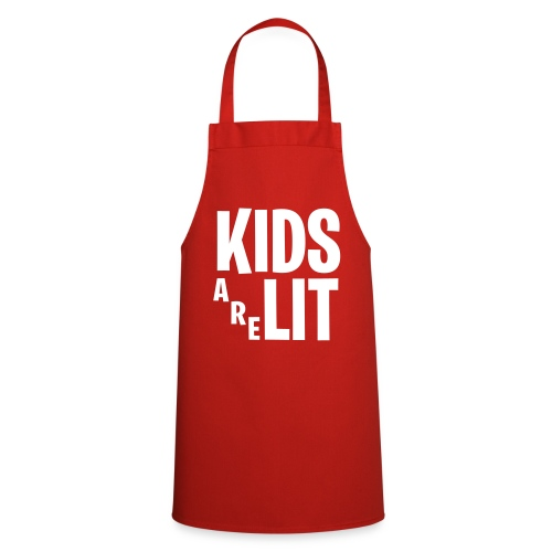 Kids Are Lit - Keukenschort