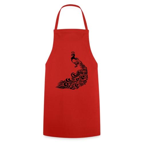 Pfau - Kochschürze