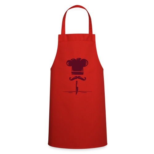 logo kitchen - Delantal de cocina