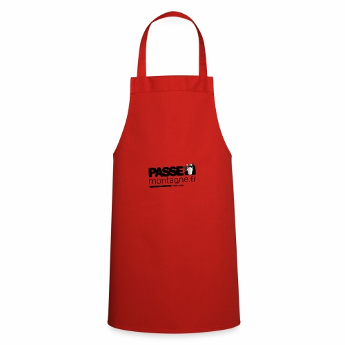 Logo Passe Montagne Couleur - Tablier de cuisine