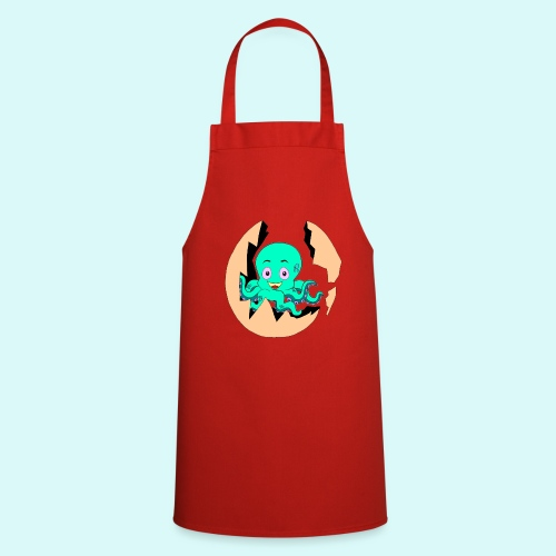 poulpe - Tablier de cuisine