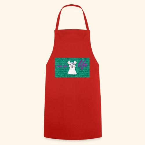 lama / alpaca - Kochschürze