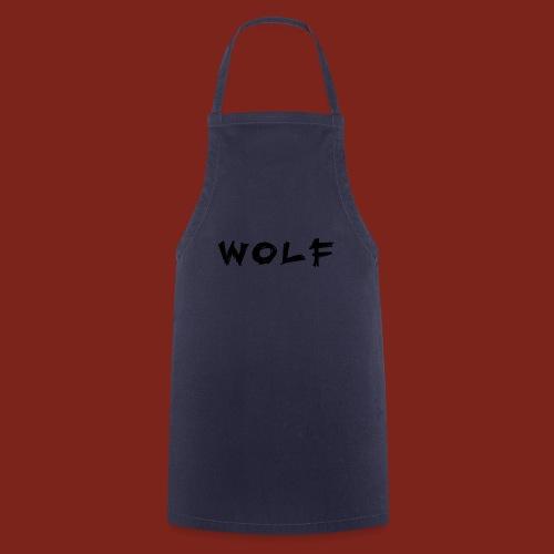 Wolf Font png - Keukenschort