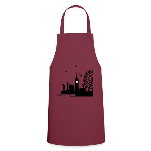 Silhouette of Margate - Cooking Apron