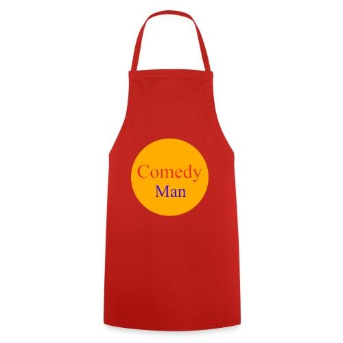 comedy man logo - Keukenschort