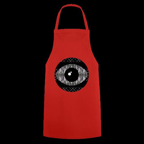 svart konstigt öga - Förkläde
