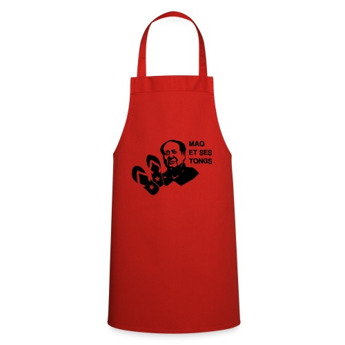 MAO et ses tongs - Tablier de cuisine