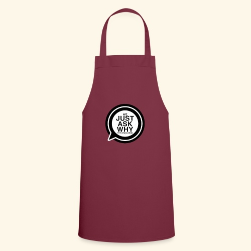 WE JUST ASK WHY - The Vegan Mind - Cooking Apron