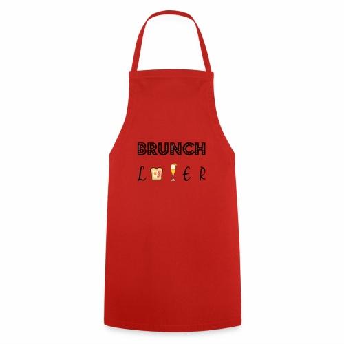 brunch lover - Delantal de cocina