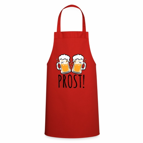 03 Zwei Mass Bier PROST 3c - Kochschürze