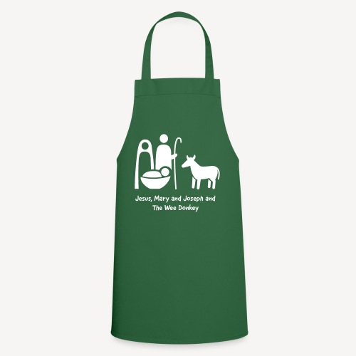 JESUS MARY AND JOSPEH AND THE WEE DONKEY - Cooking Apron