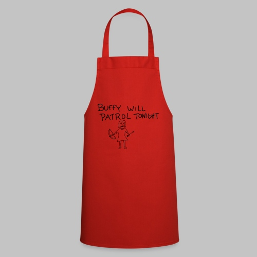 buffy's patrol - Cooking Apron