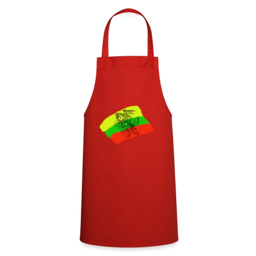 Lithuanian flag with rider - Cooking Apron