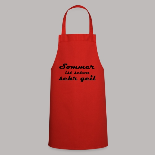 summer is very cool - Cooking Apron