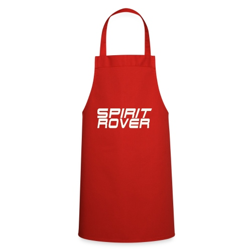 SpiritRover Title White - Kochschürze