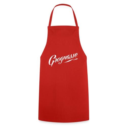 GROGNASSE BLANC - Tablier de cuisine