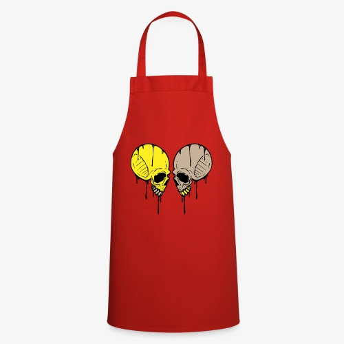Dripping Skull (2 of 3) - Cooking Apron