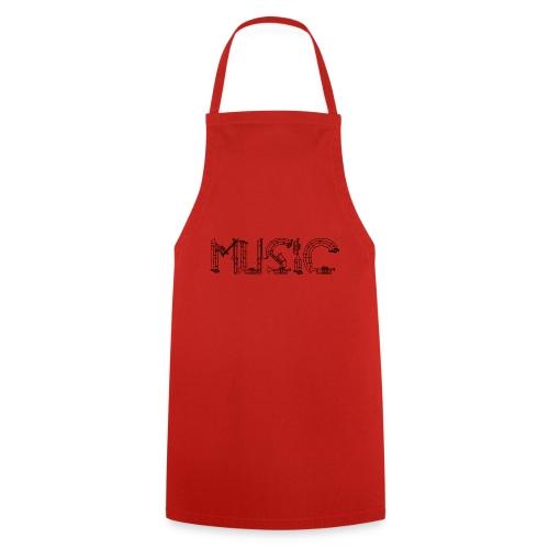 Musique - Tablier de cuisine