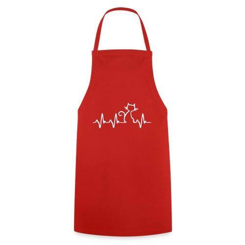 Vorschau: Cat Heartbeat - Kochschürze