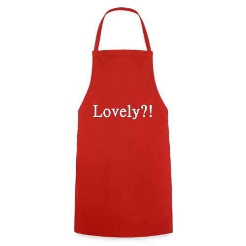 Lovely?! weiß - Kochschürze